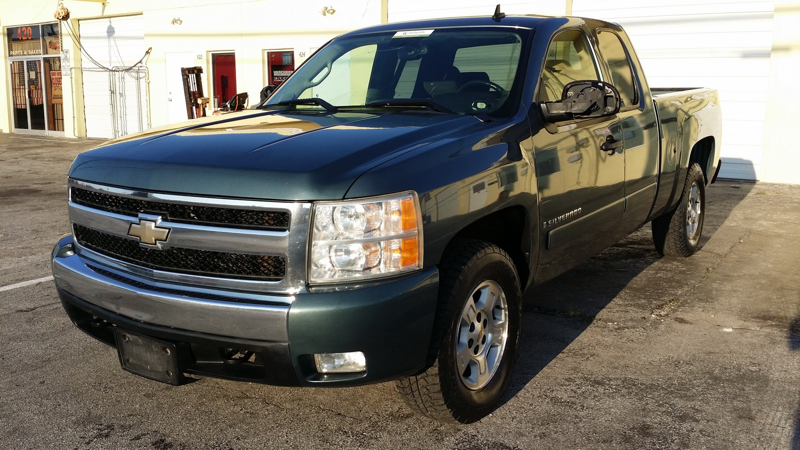 2007 chevrolet silverado 1500 lt1 ext cab 4wd picture exterior. Cars Review. Best American Auto & Cars Review