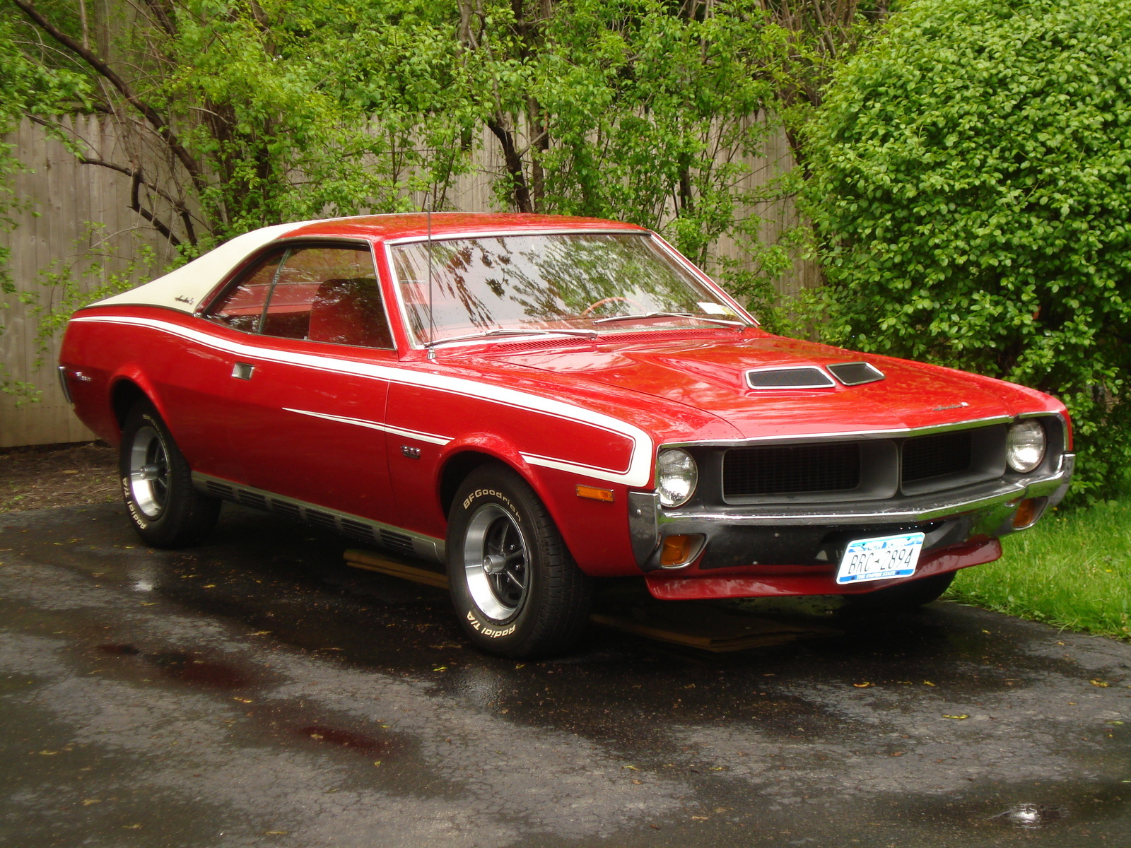 AMC Javelin Questions I have a used 1970 javelin hood exelent