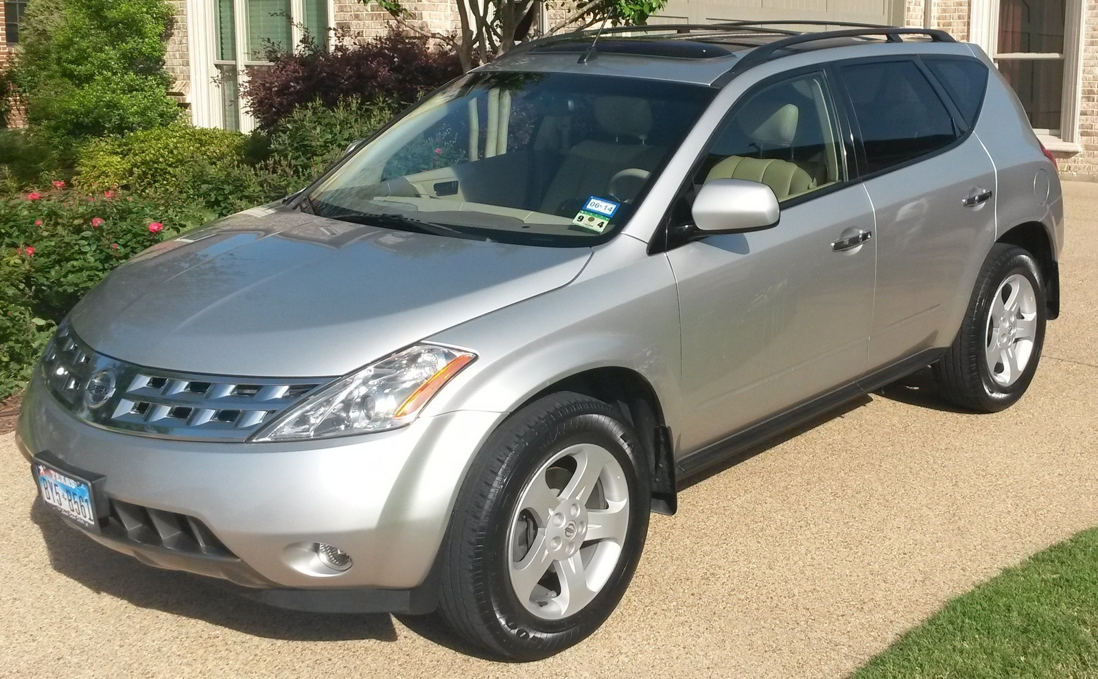 picture of 2003 nissan murano sl exterior. Black Bedroom Furniture Sets. Home Design Ideas