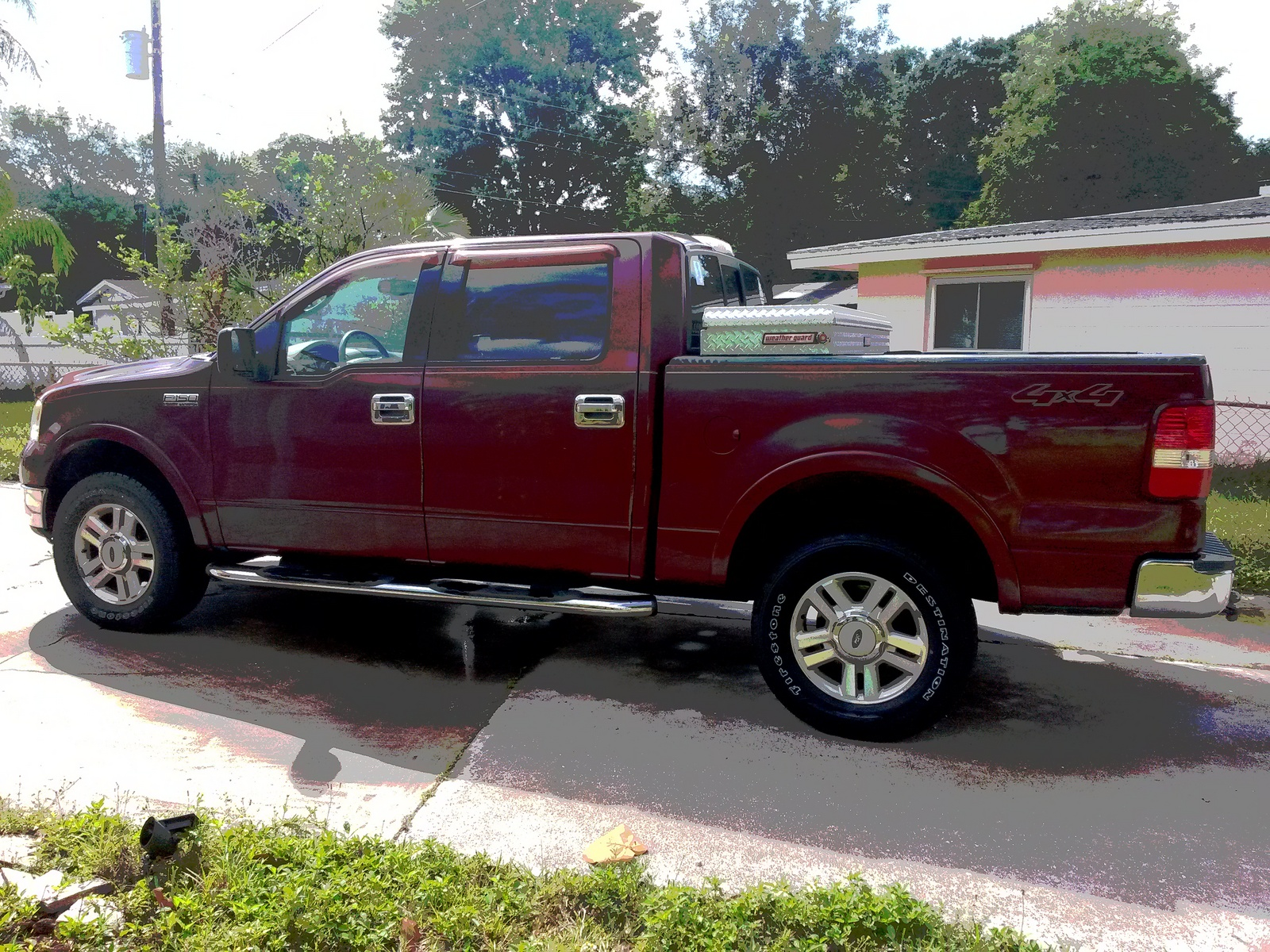 picture of 2004 ford f 150 lariat supercrew 4wd exterior. Black Bedroom Furniture Sets. Home Design Ideas