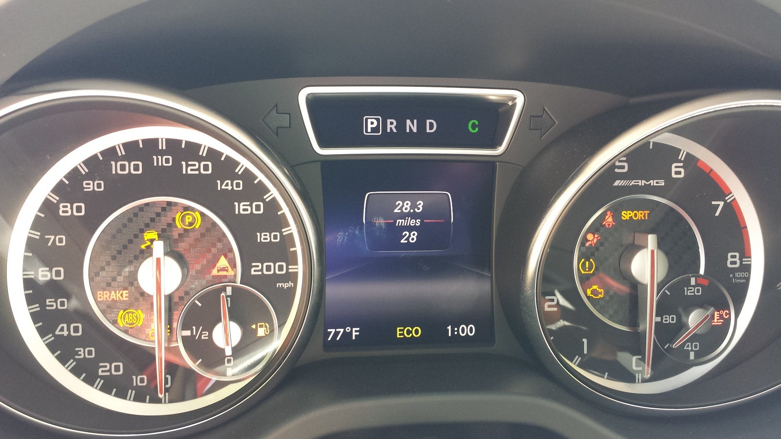 Picture of 2014 Mercedes-Benz CLA-Class CLA45 AMG, interior