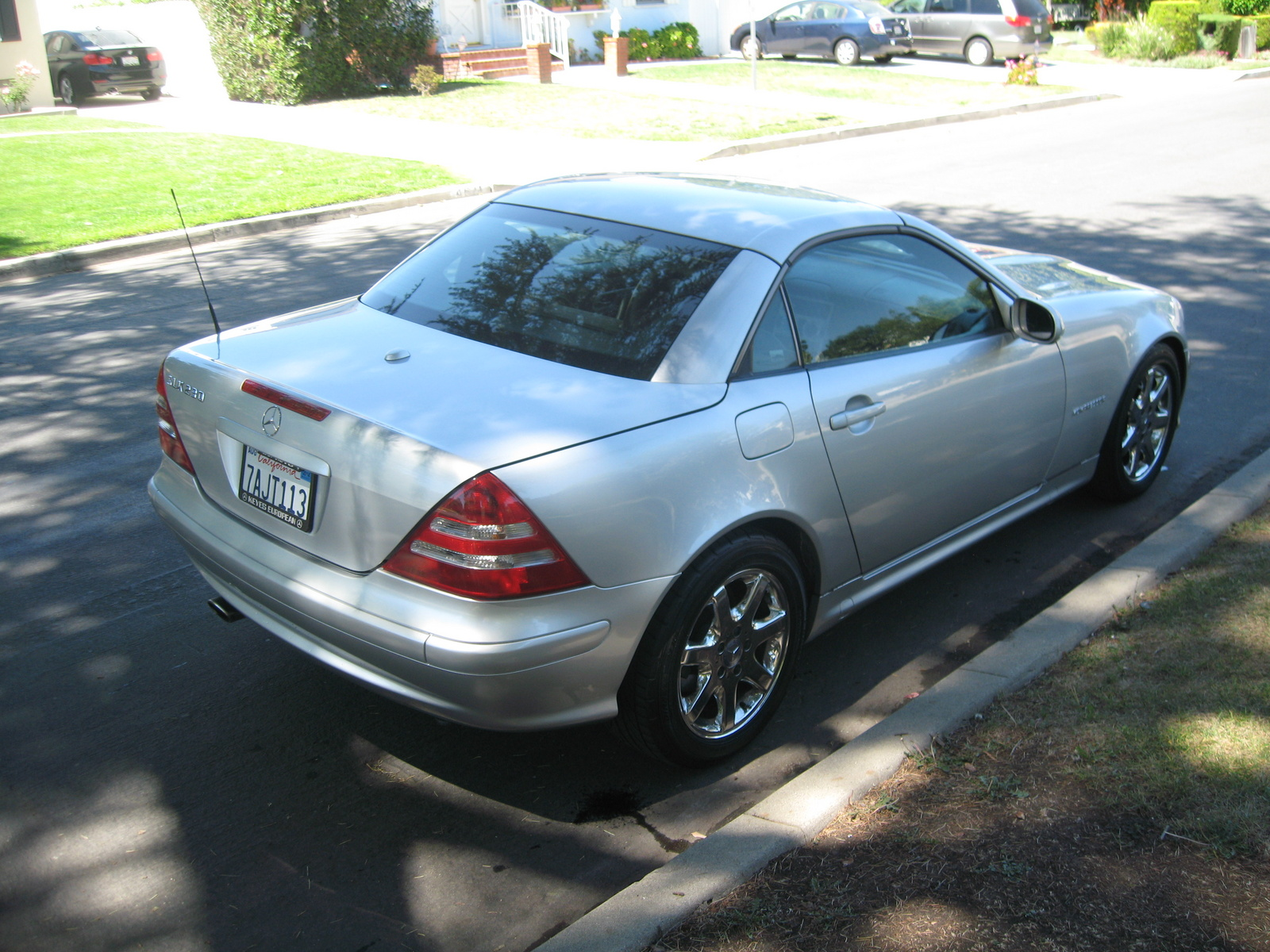 Picture of 2002 Mercedes-Benz SLK-Class 2 Dr SLK230 Supercharged Convertible