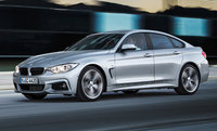 Front-quarter view of the 2015 BMW 4 Series Gran Coupe, exterior, manufacturer, gallery_worthy
