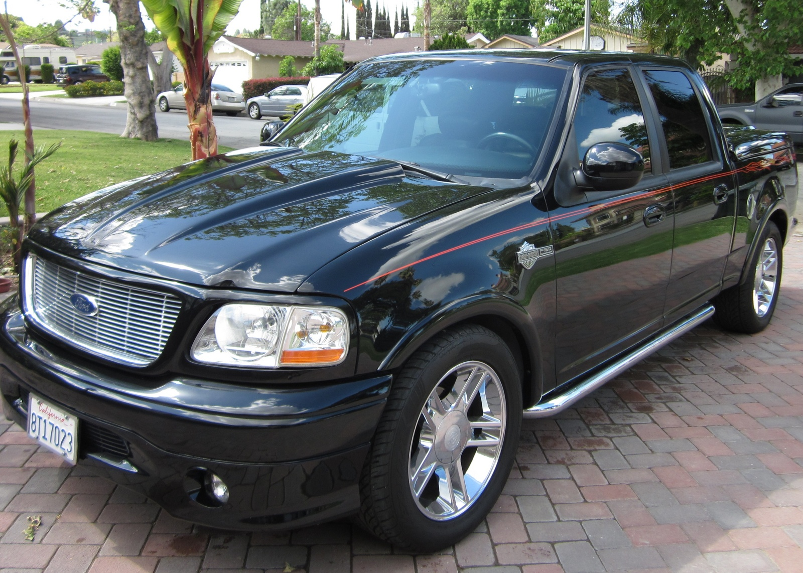 Picture of 2002 ford f 150 harley davidson supercharged crew cab sb