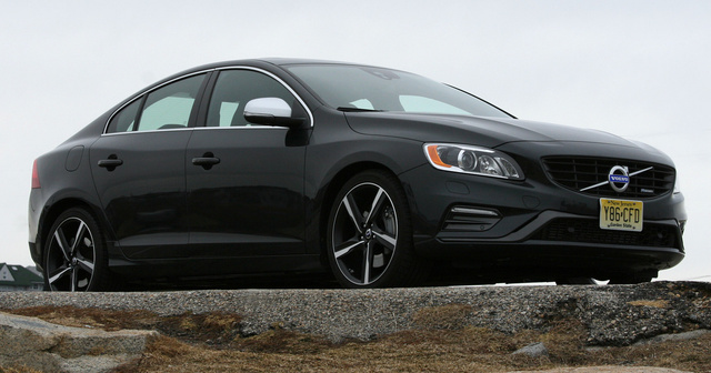 2014 Volvo S60 front, exterior