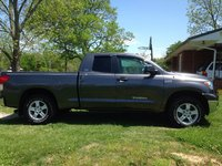2012 Toyota Tundra SR5 Double Cab 5.7L FFV 4WD, Has weather tech floor mates and rain guards, exterior