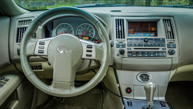 2005 Infiniti Fx35 Interior Pictures Cargurus