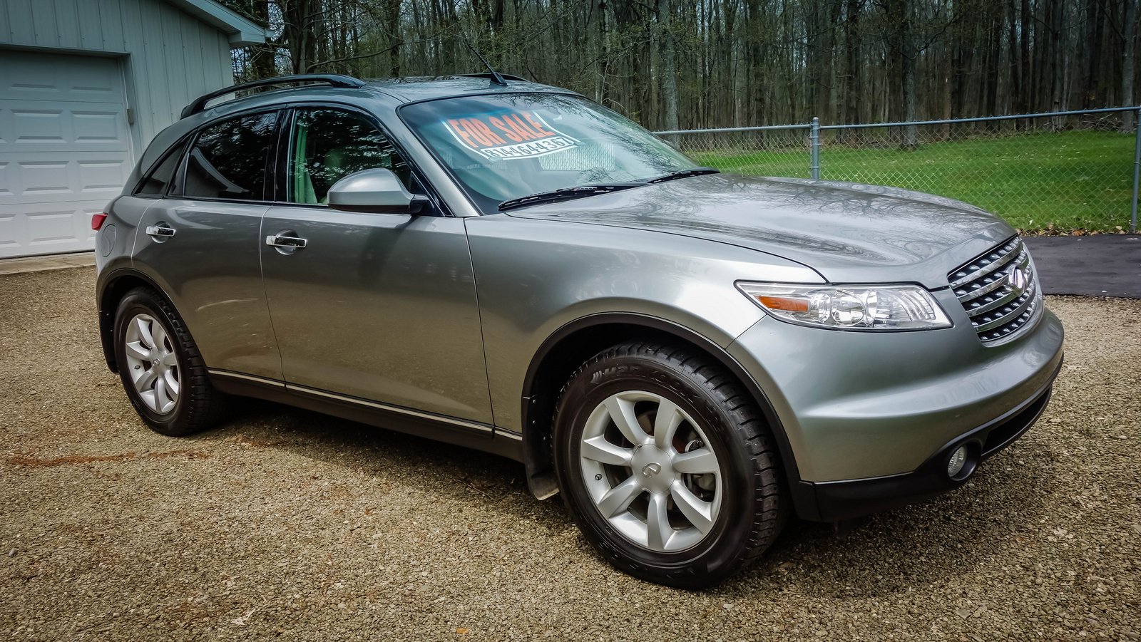 2005 Infiniti Fx35 - Overview