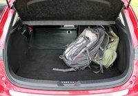 2014 Mazda MAZDA3, Rear cargo area of the 2014 Mazda3, interior