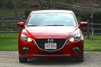 2014 Mazda MAZDA3, Front of the 2014 Mazda3, exterior