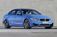 2015 BMW M3, Front-quarter view, exterior, manufacturer, gallery_worthy