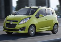 2015 Chevrolet Spark, Front-quarter view. Copyright General Motors, exterior, manufacturer