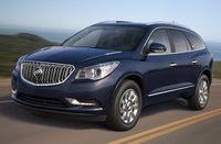 2015 Buick Enclave, Front-quarter view. Copyright General Motors, exterior, manufacturer