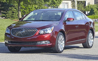 2015 Buick LaCrosse, Front-quarter view. Copyright General Motors, exterior, manufacturer
