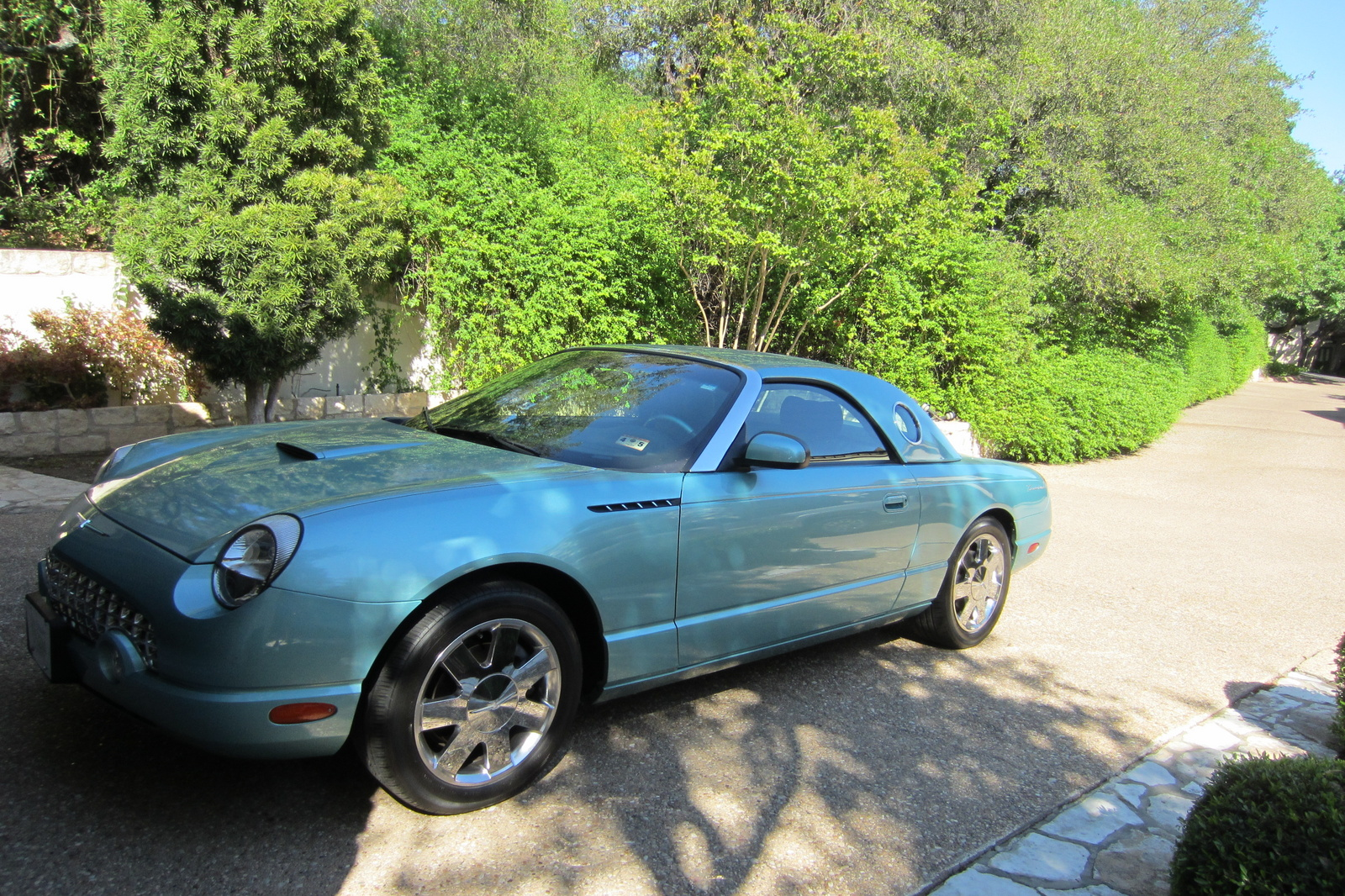 picture of 2002 ford thunderbird base convertible exterior. Cars Review. Best American Auto & Cars Review