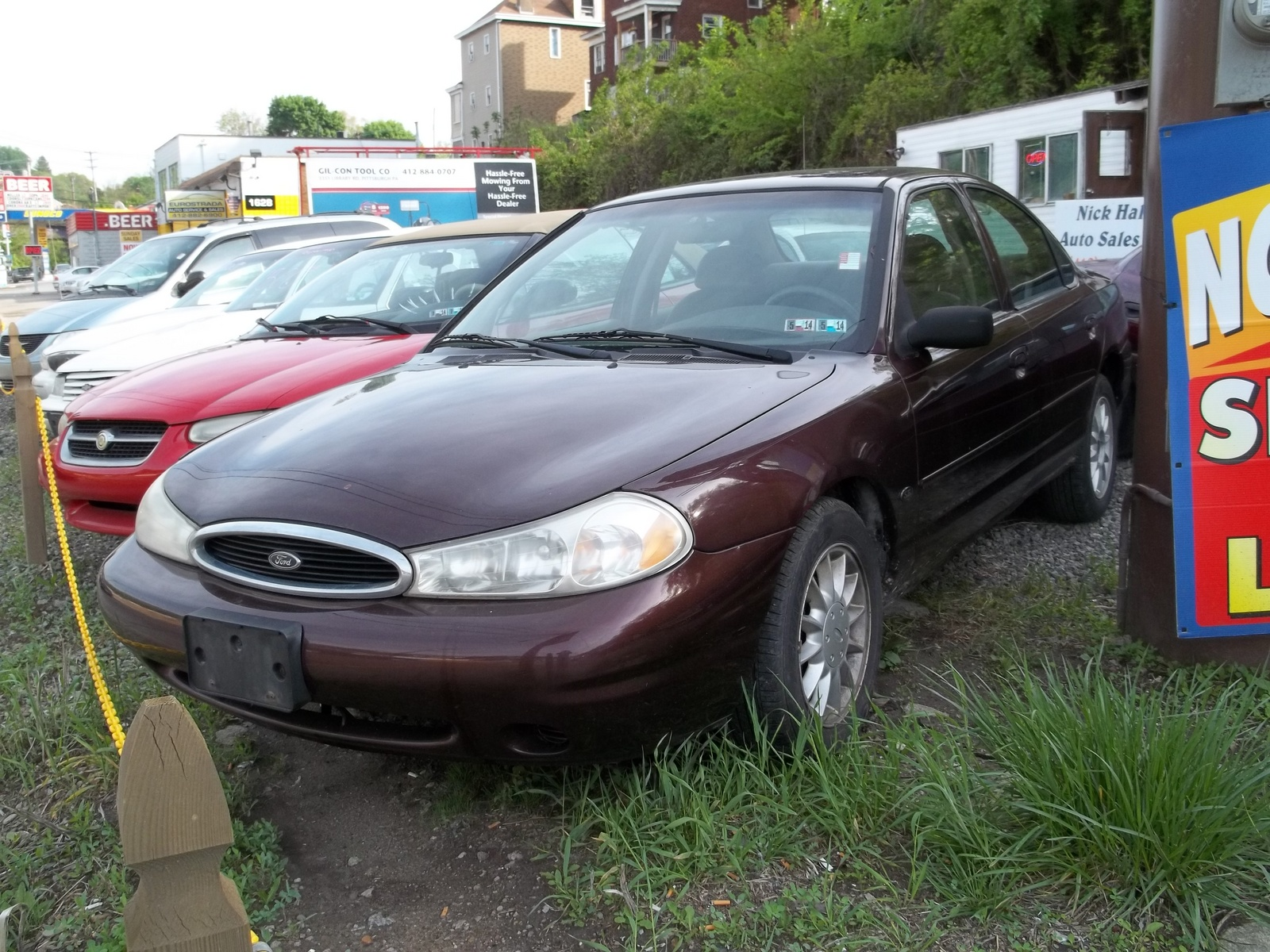 Picture of 2000 Ford Contour 4 Dr SE Sedan