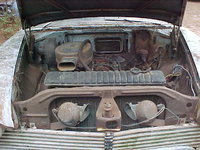 Picture of 1958 Plymouth Plaza, engine