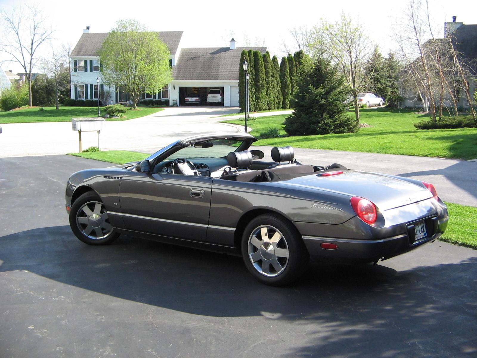 2003 Ford Thunderbird Overview Cargurus