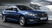 2015 Hyundai Sonata, Front-quarter view, exterior, manufacturer, gallery_worthy
