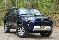 Front 3/4 of the 2014 Toyota 4Runner, exterior