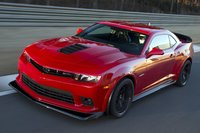 2015 Chevrolet Camaro, Front-quarter view. Copyright General Motors, exterior, manufacturer