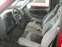 2002 Ford F-150 SVT Lightning 2 Dr Supercharged Standard Cab Stepside SB picture, interior