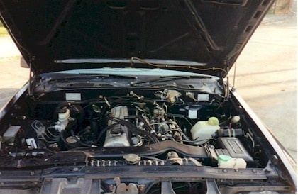Picture of 1984 Nissan Maxima, engine