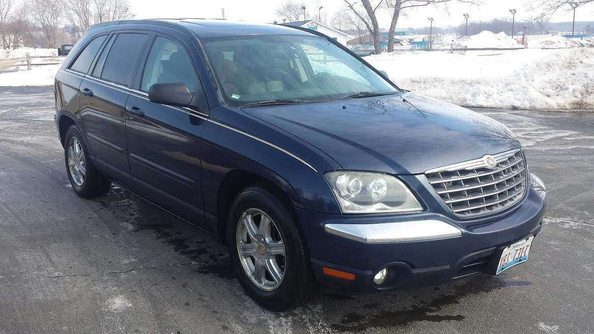 picture of 2004 chrysler pacifica base awd exterior. Cars Review. Best American Auto & Cars Review