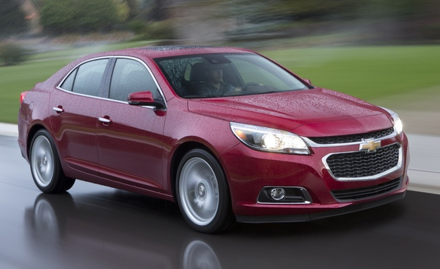 2015 Chevrolet Malibu, Front quarter view. Copyright General Motors, exterior, manufacturer