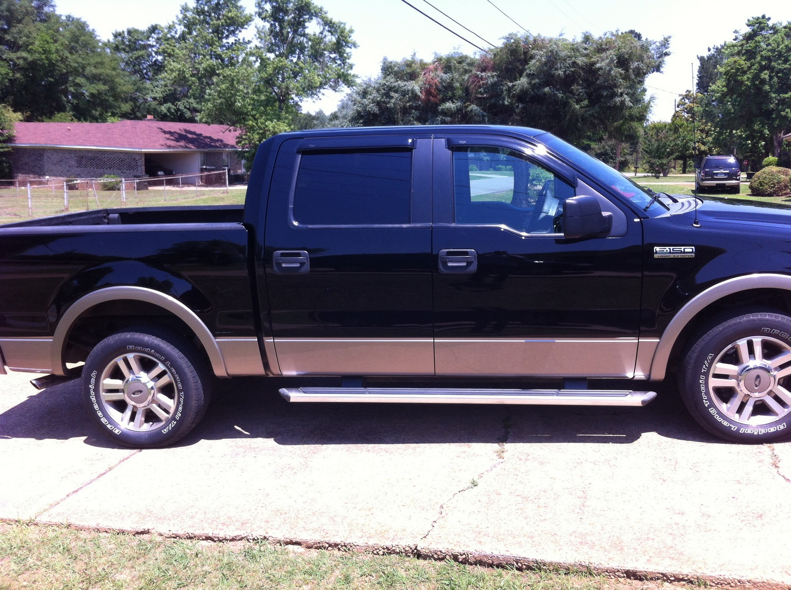 picture of 2005 ford f 150 lariat supercrew exterior. Black Bedroom Furniture Sets. Home Design Ideas