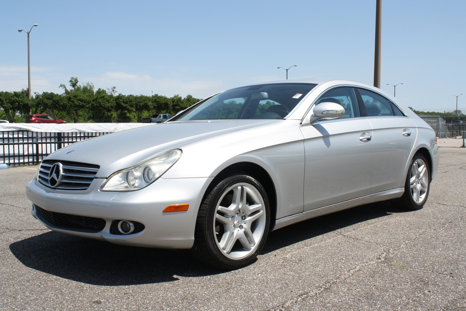 Picture of 2007 mercedes benz cls class cls550 exterior for Mercedes benz cls class