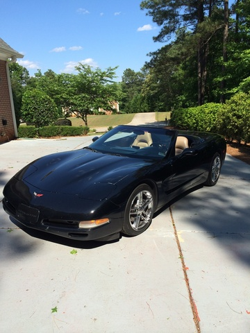 Picture of 2004 Chevrolet Corvette Convertible, exterior, gallery_worthy