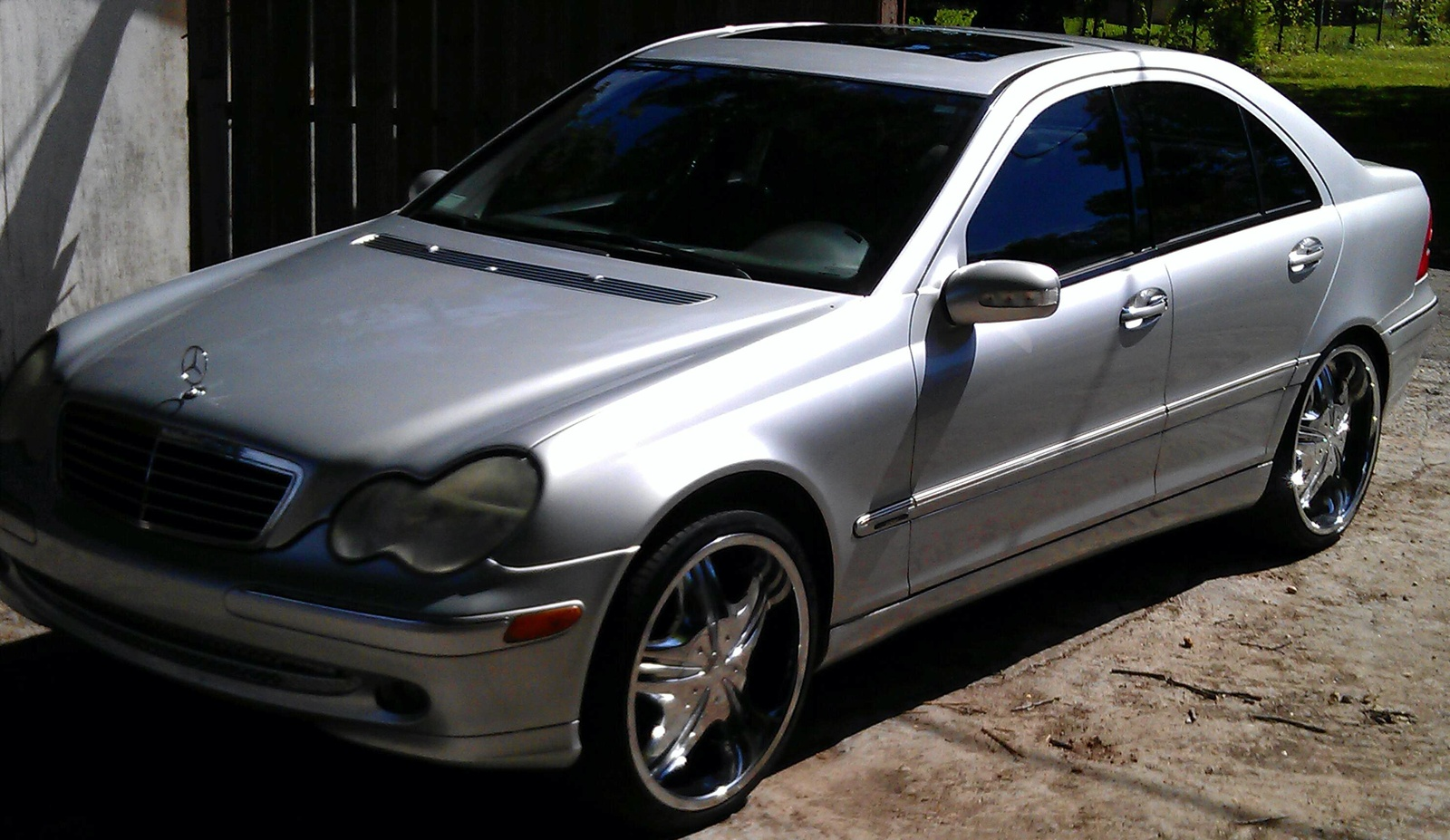 Picture of 2001 mercedes benz c class 4 dr c320 sedan interior for Mercedes benz c class 2001