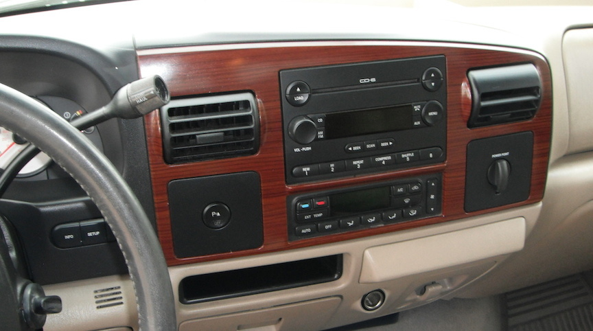 2005 Ford F-250 Super Duty - Interior Pictures