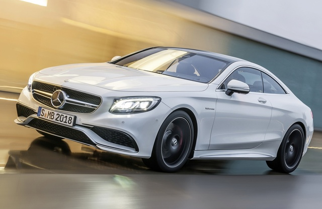 2015 Mercedes-Benz S-Class Coupe, Front-quarter view, exterior, manufacturer