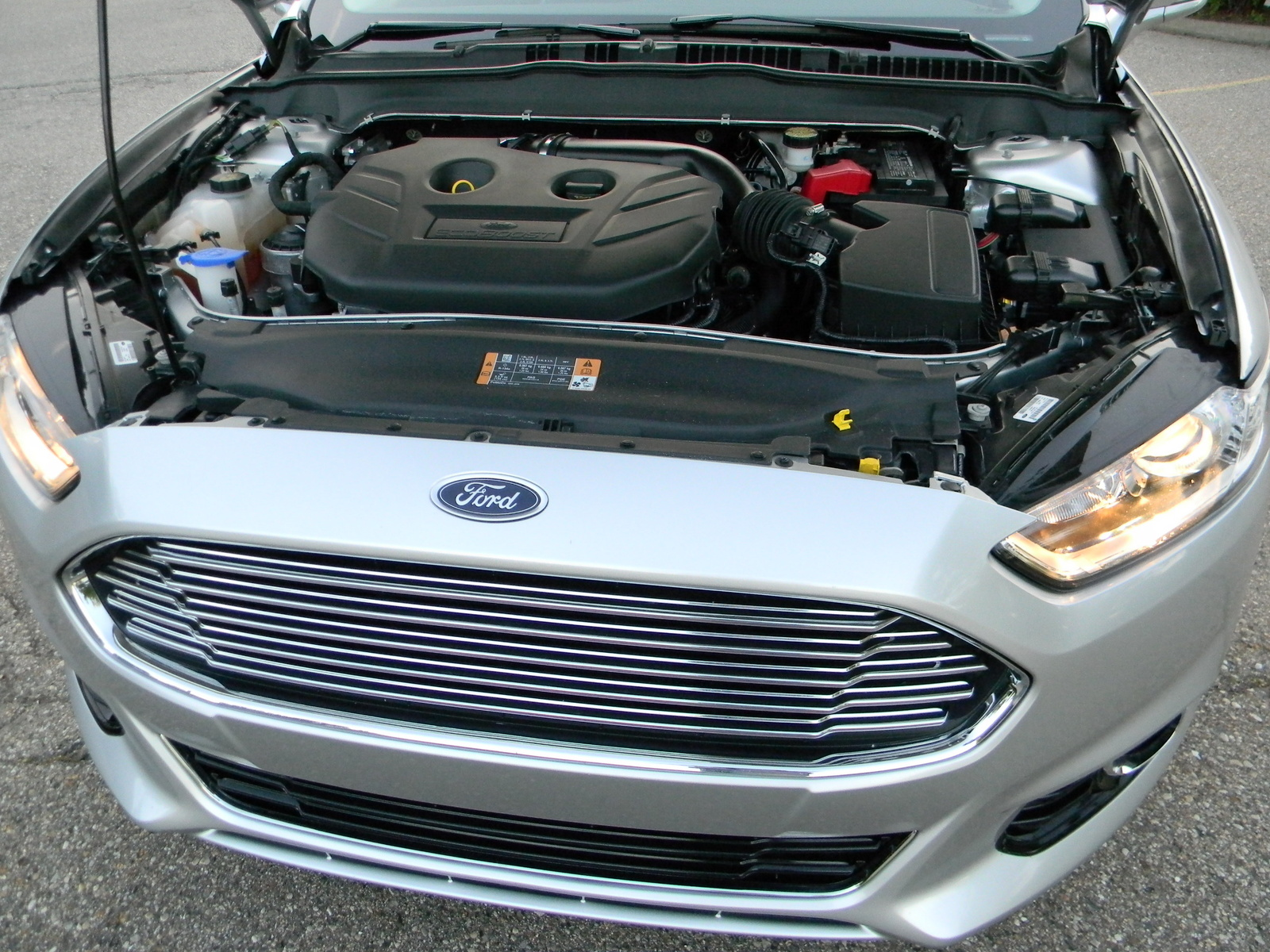 picture of 2013 ford fusion titanium engine. Cars Review. Best American Auto & Cars Review