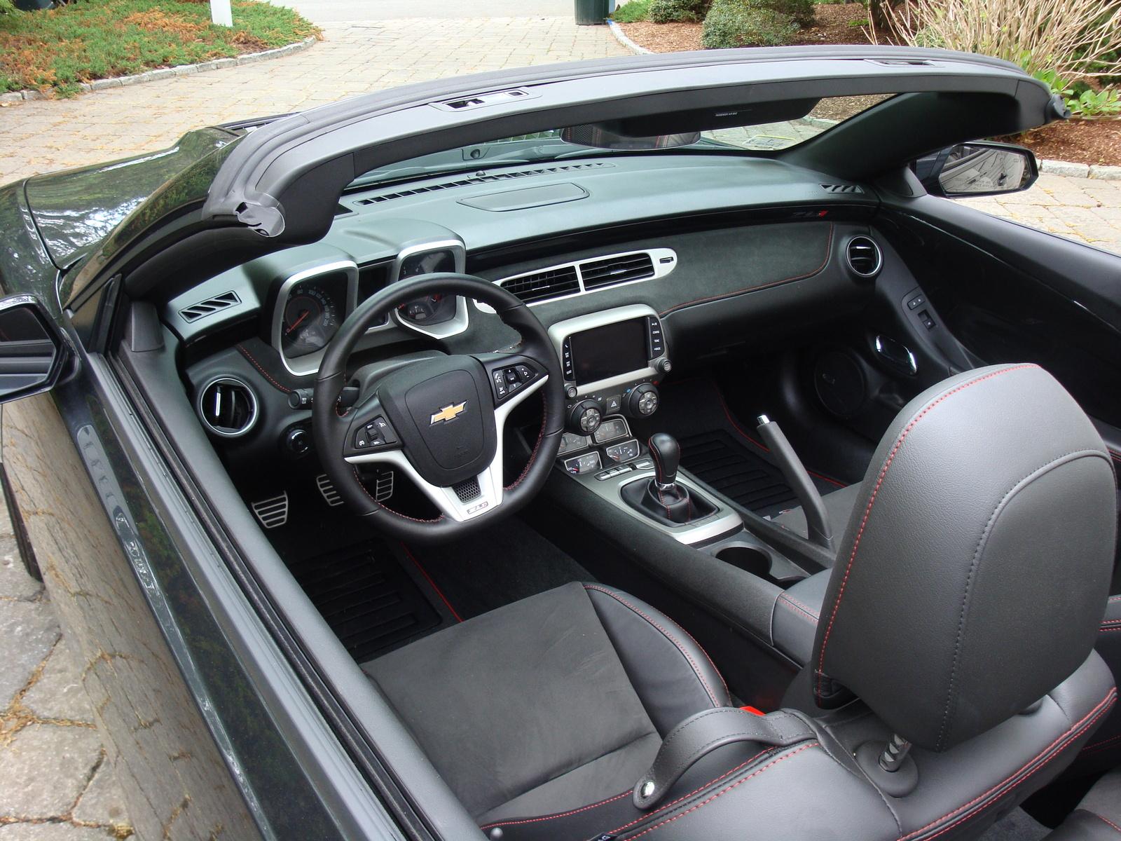2013 Chevrolet Camaro Interior Pictures Cargurus