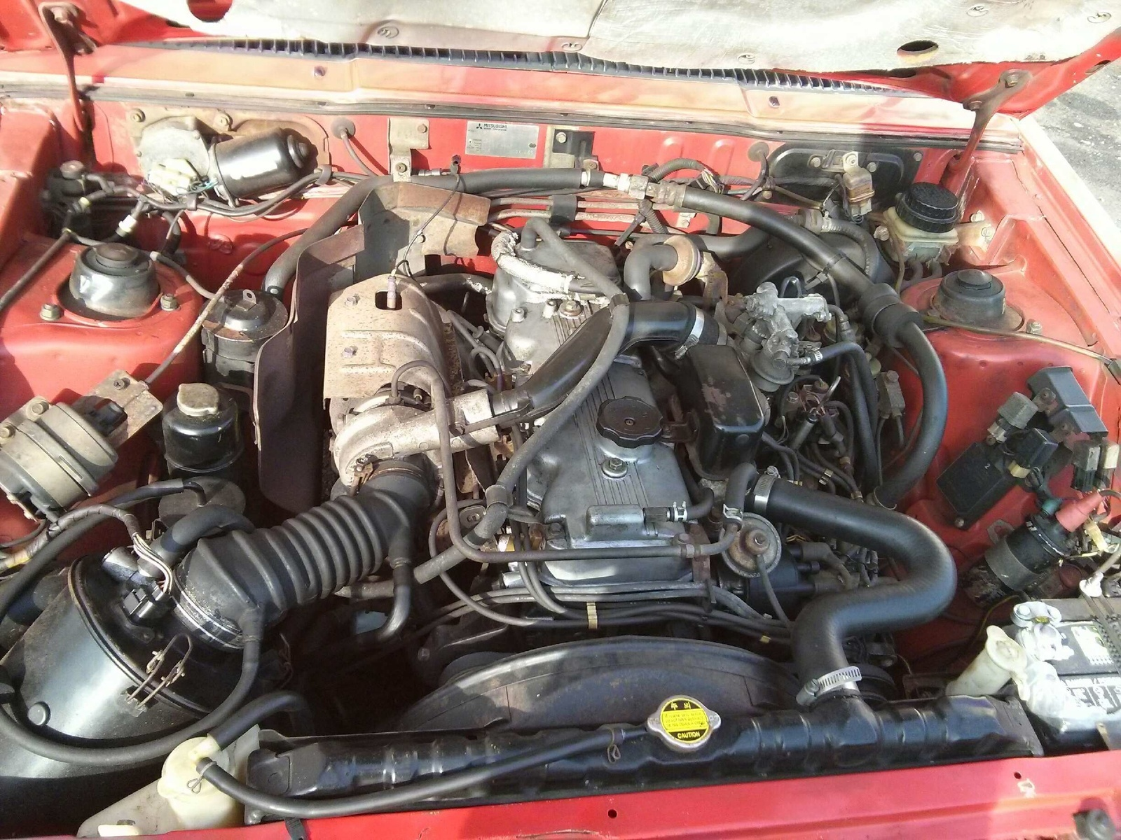 Mitsubishi Starion Questions - 87 starion won't accelerate during