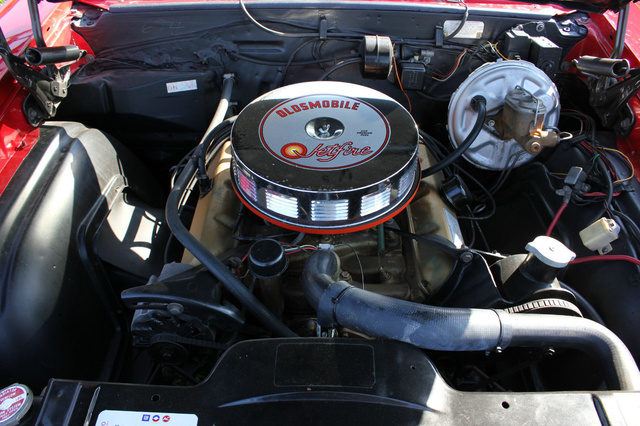 Picture of 1967 Oldsmobile Cutlass Supreme, engine, gallery_worthy