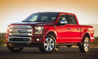 2015 Ford F-150, Front-quarter view, exterior, manufacturer, gallery_worthy