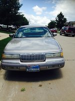 Picture of 1994 Mercury Grand Marquis 4 Dr LS Sedan, exterior