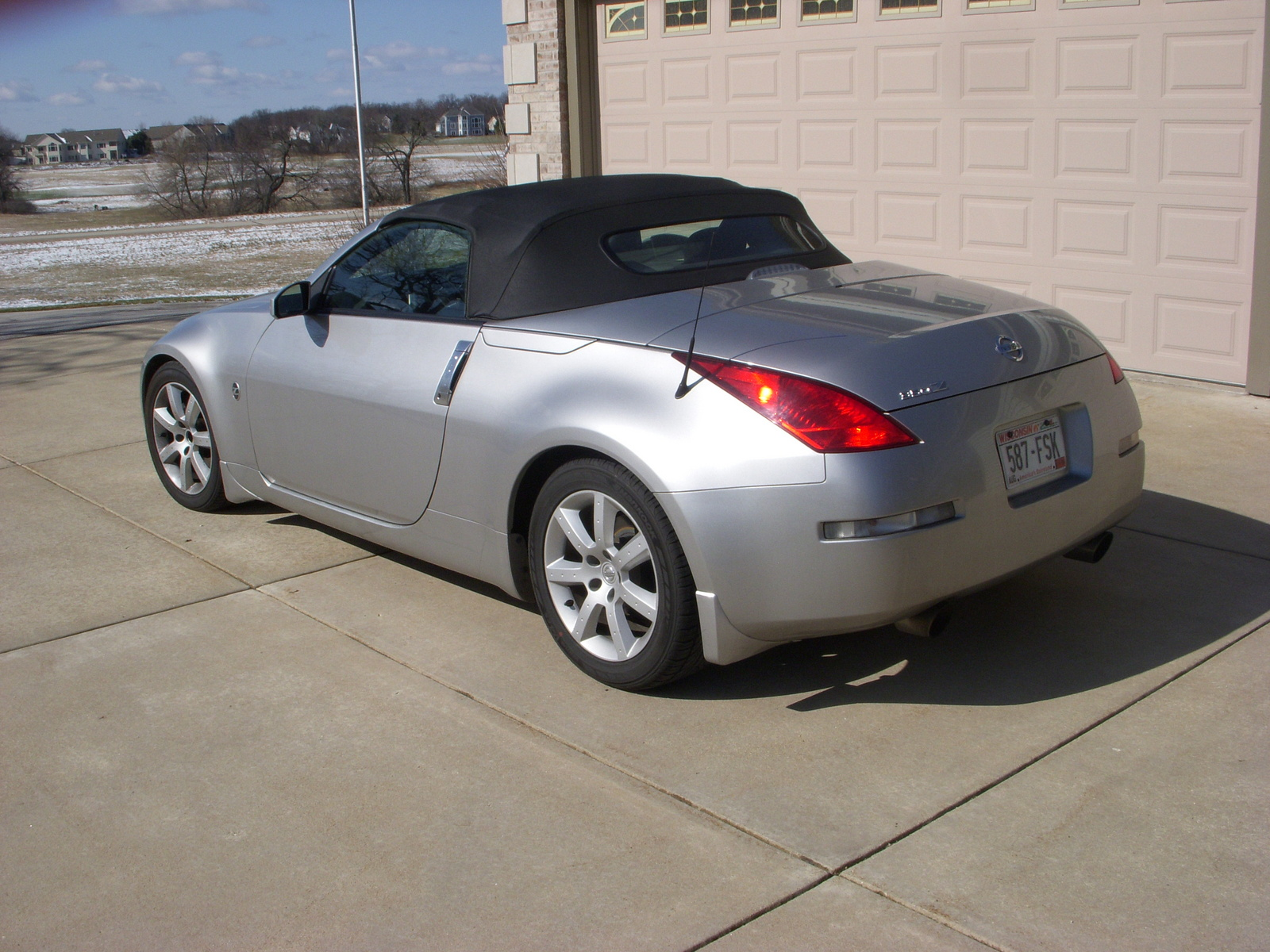 Picture Of 2004 Nissan 350z Touring Roadster Exterior