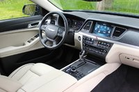 Cabin of the 2015 Hyundai Genesis, interior