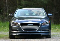 Front shot of the 2015 Hyundai Genesis