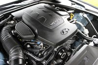 Engine of the 2015 Hyundai Genesis, engine
