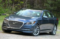 Front 3/4 of the 2015 Hyundai Genesis, exterior