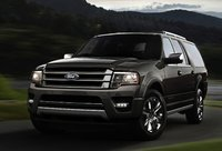 2015 Ford Expedition, Front-quarter view, manufacturer, exterior