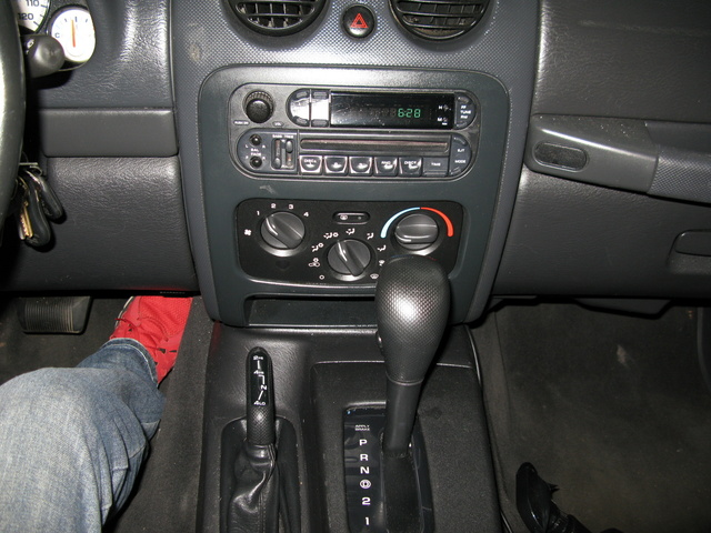 2004 Jeep Liberty Renegade Interior