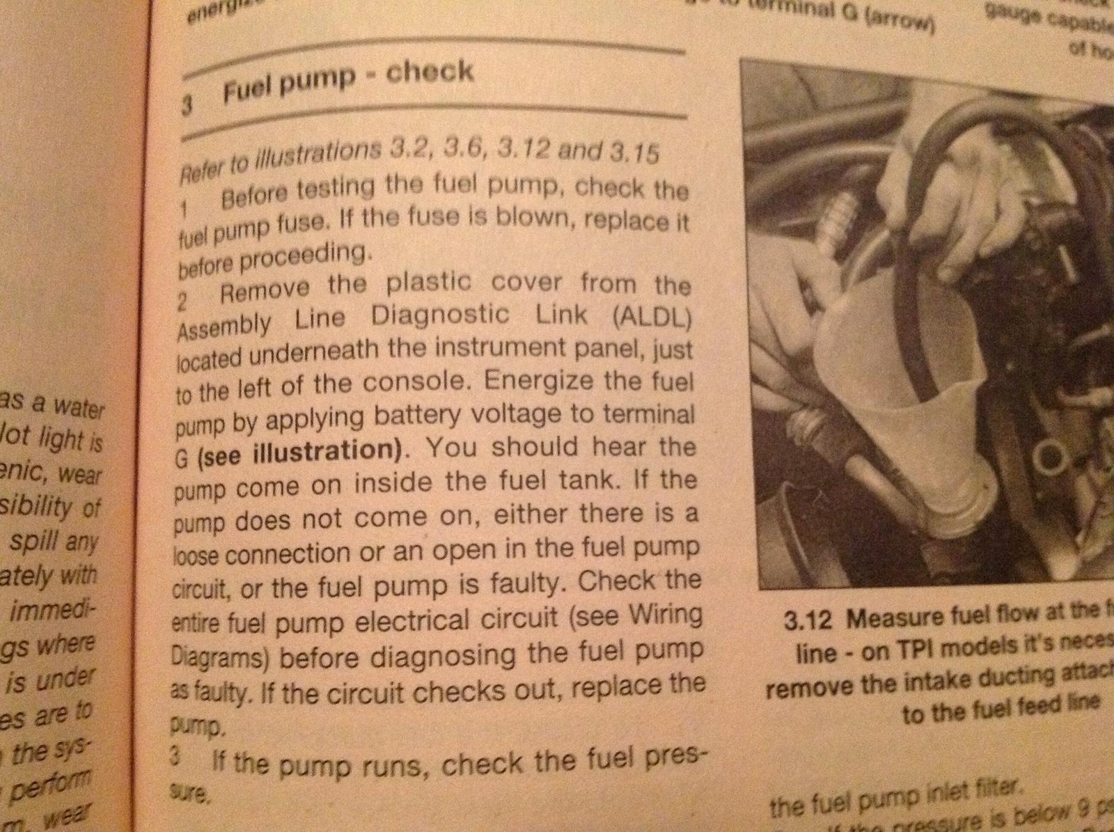 Chevrolet Camaro Questions 1988 Irocz28 Camaro Not Getting Fuel