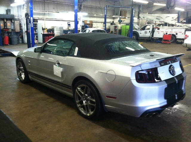 Picture of 2014 Ford Shelby GT500 Convertible